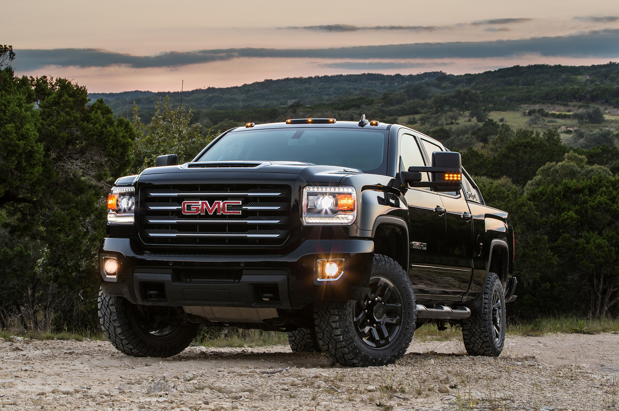 2017 gmc sierra hd all terrain x brings high torque to the trails automobile magazine. Black Bedroom Furniture Sets. Home Design Ideas