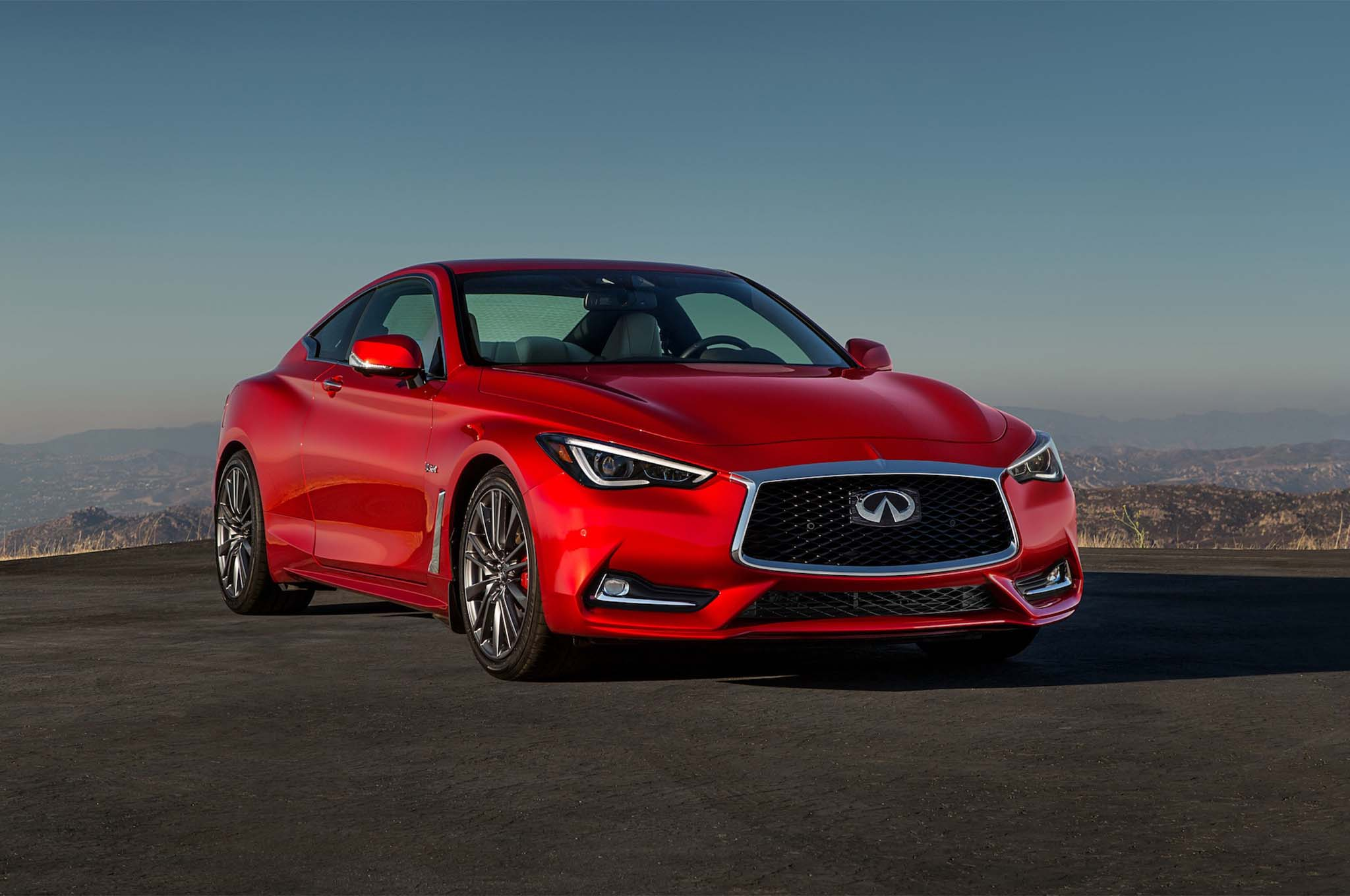 Infiniti 2017 >> 2017 Infiniti Q60 Red Sport 400 First Drive Review Automobile