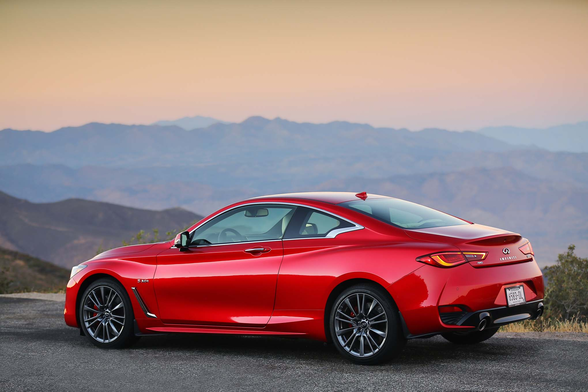 First Drive: 2017 Infiniti Q60 Red Sport 400 | Automobile ...