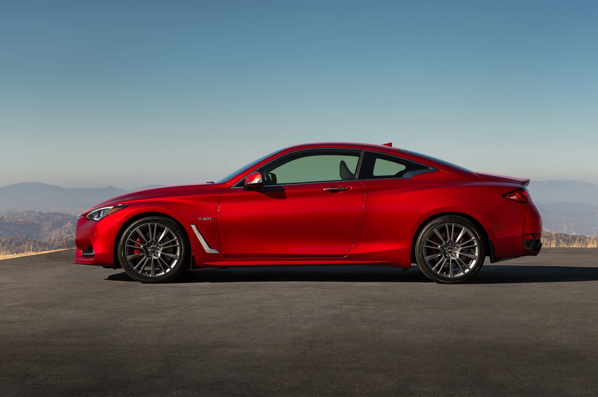 first drive 2017 infiniti q60 red sport 400 automobile magazine. Black Bedroom Furniture Sets. Home Design Ideas