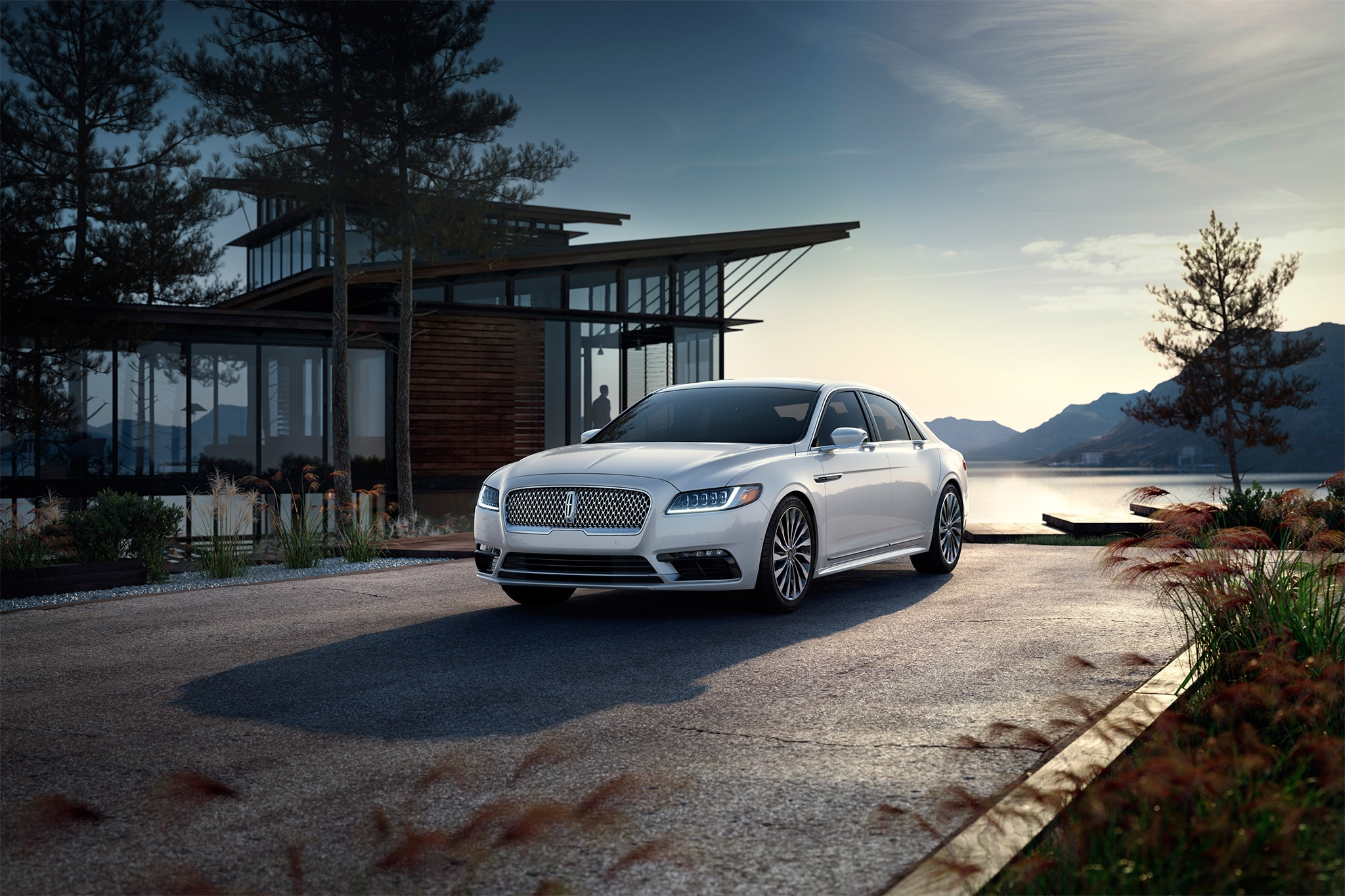 the six coolest features on the 2017 lincoln continental automobile magazine. Black Bedroom Furniture Sets. Home Design Ideas