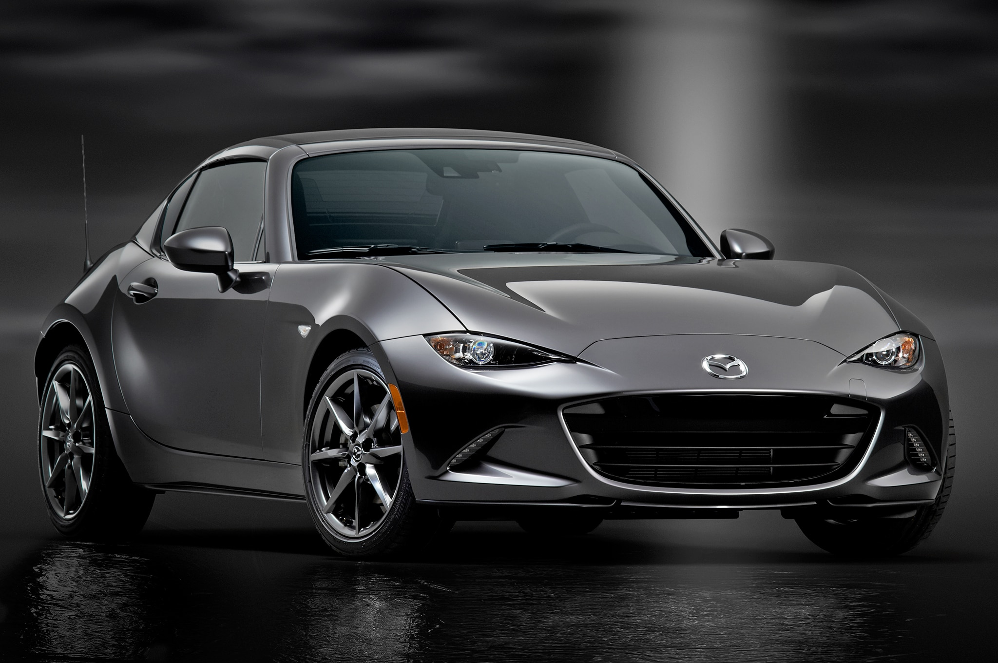 non launch edition 2017 mazda mx 5 miata rf starts at 32 390 automobile magazine. Black Bedroom Furniture Sets. Home Design Ideas