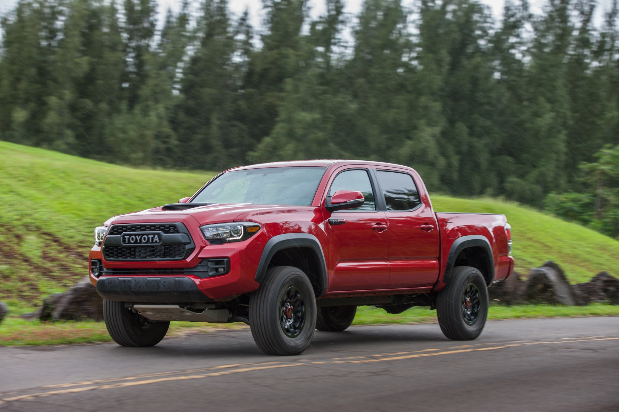 2017 toyota tacoma trd pro first drive review automobile magazine. Black Bedroom Furniture Sets. Home Design Ideas