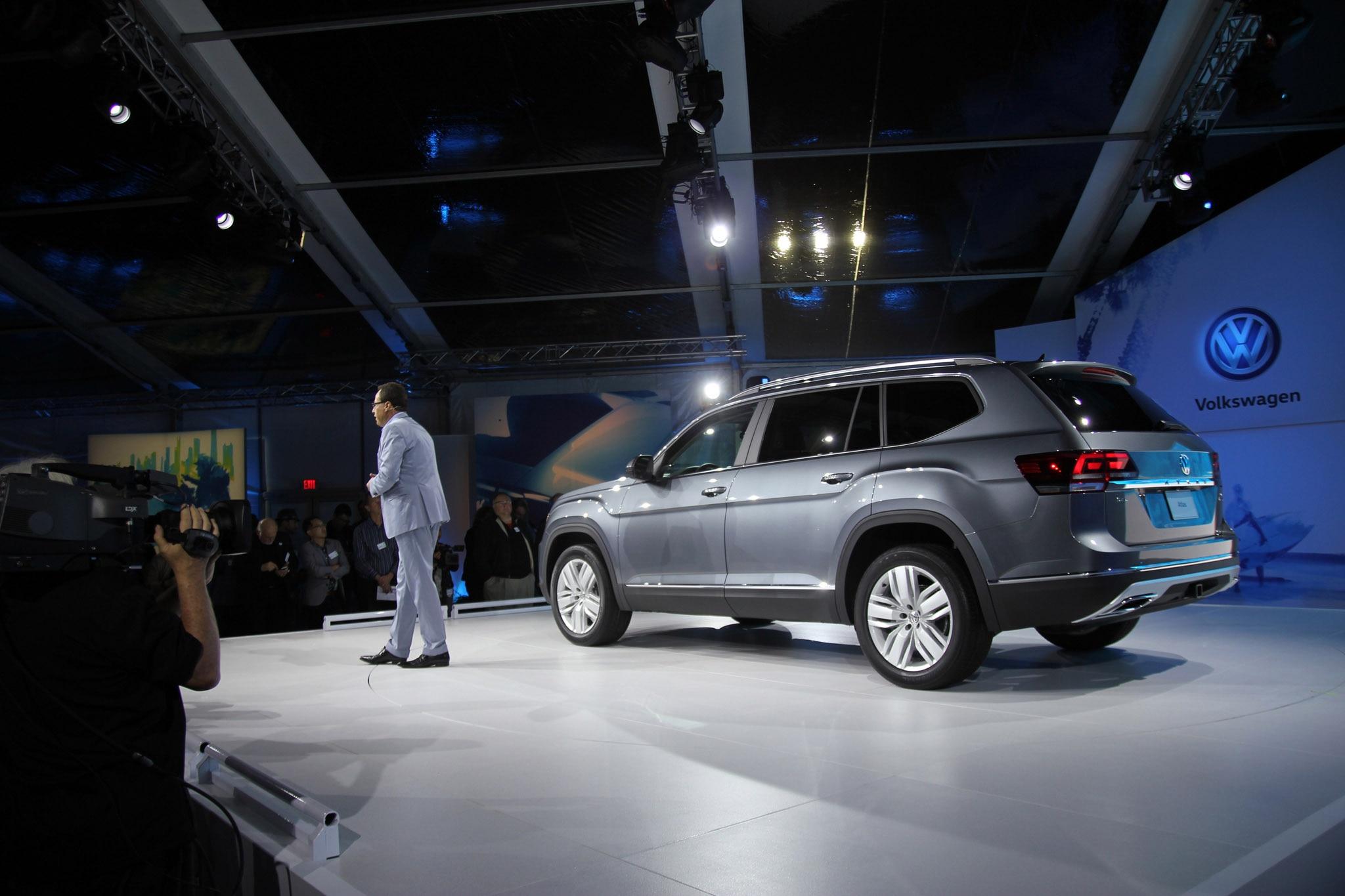 2018 VW Atlas Launch Rear Stage
