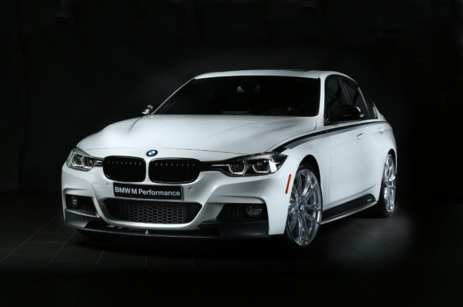 BMW 340i SEMA M Performance Front Three Quarters 660x438