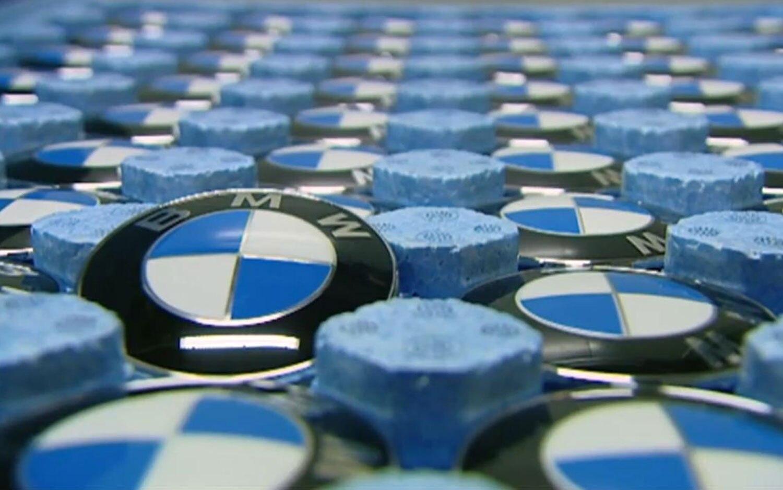 BMW Logo Tray