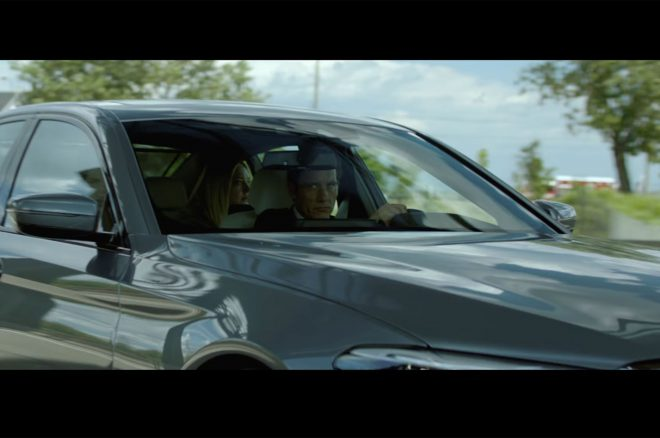 Clive Owen Driving 2017 BMW 540i In BMW Films The Escape 660x438