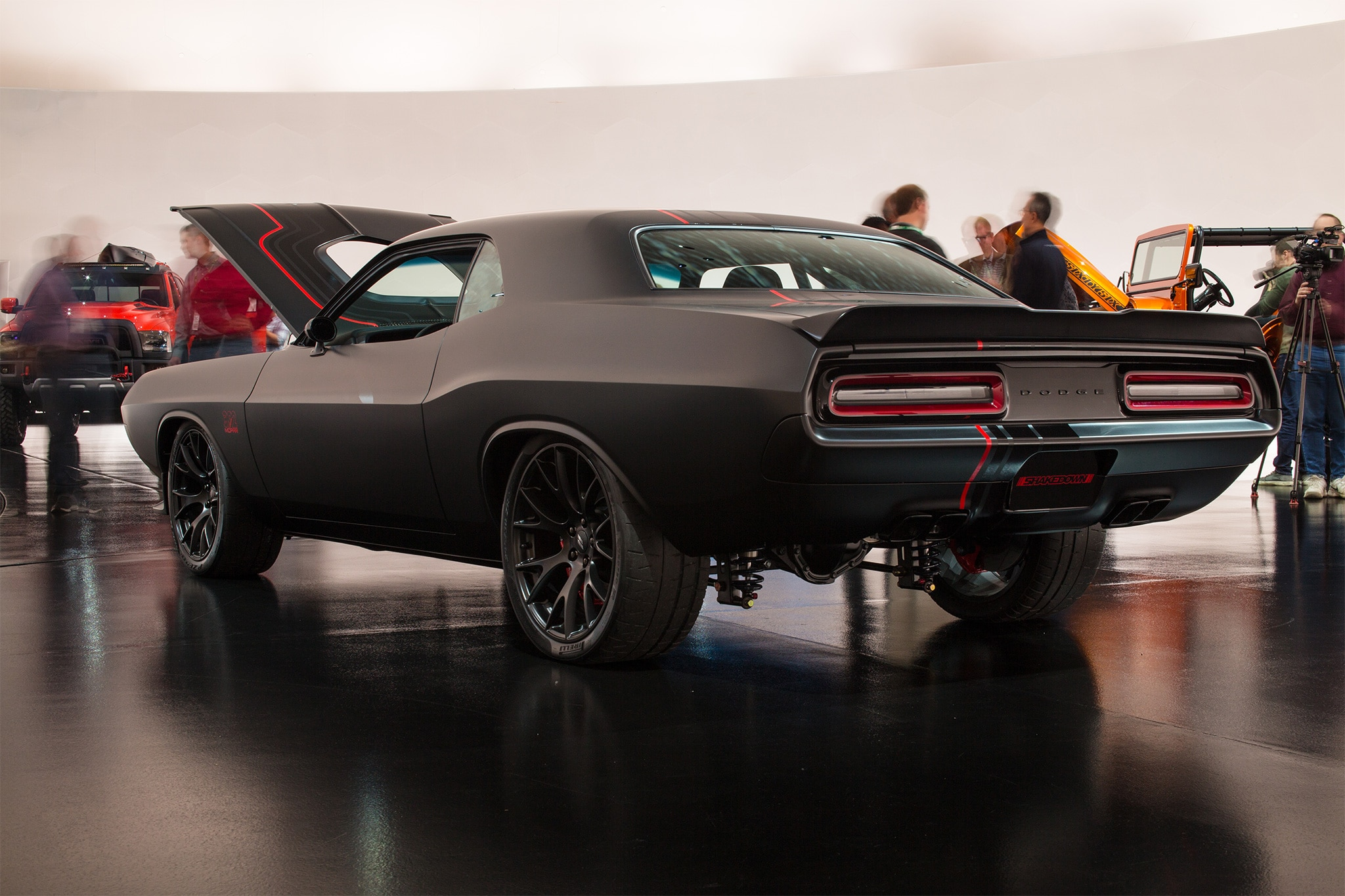 Dodge Shakedown Challenger Rear Three Quarter