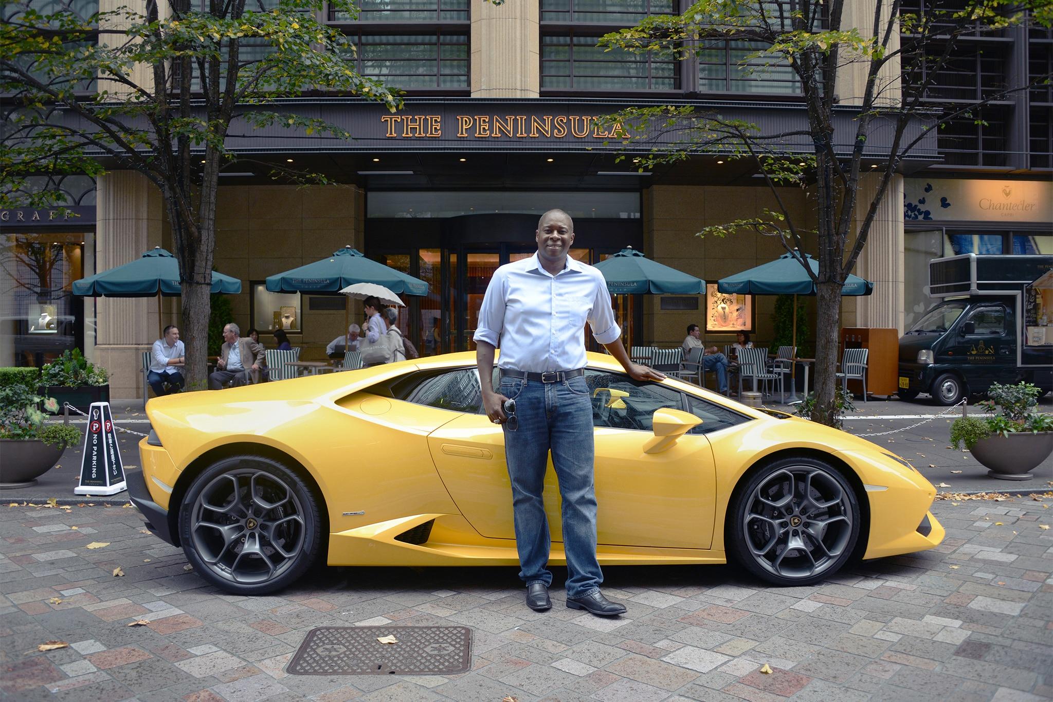 Hollis Humphreys And Lamborghini Huracan