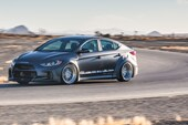 Hyundai Arc Road Racer Elantra Concept front three quarters 2
