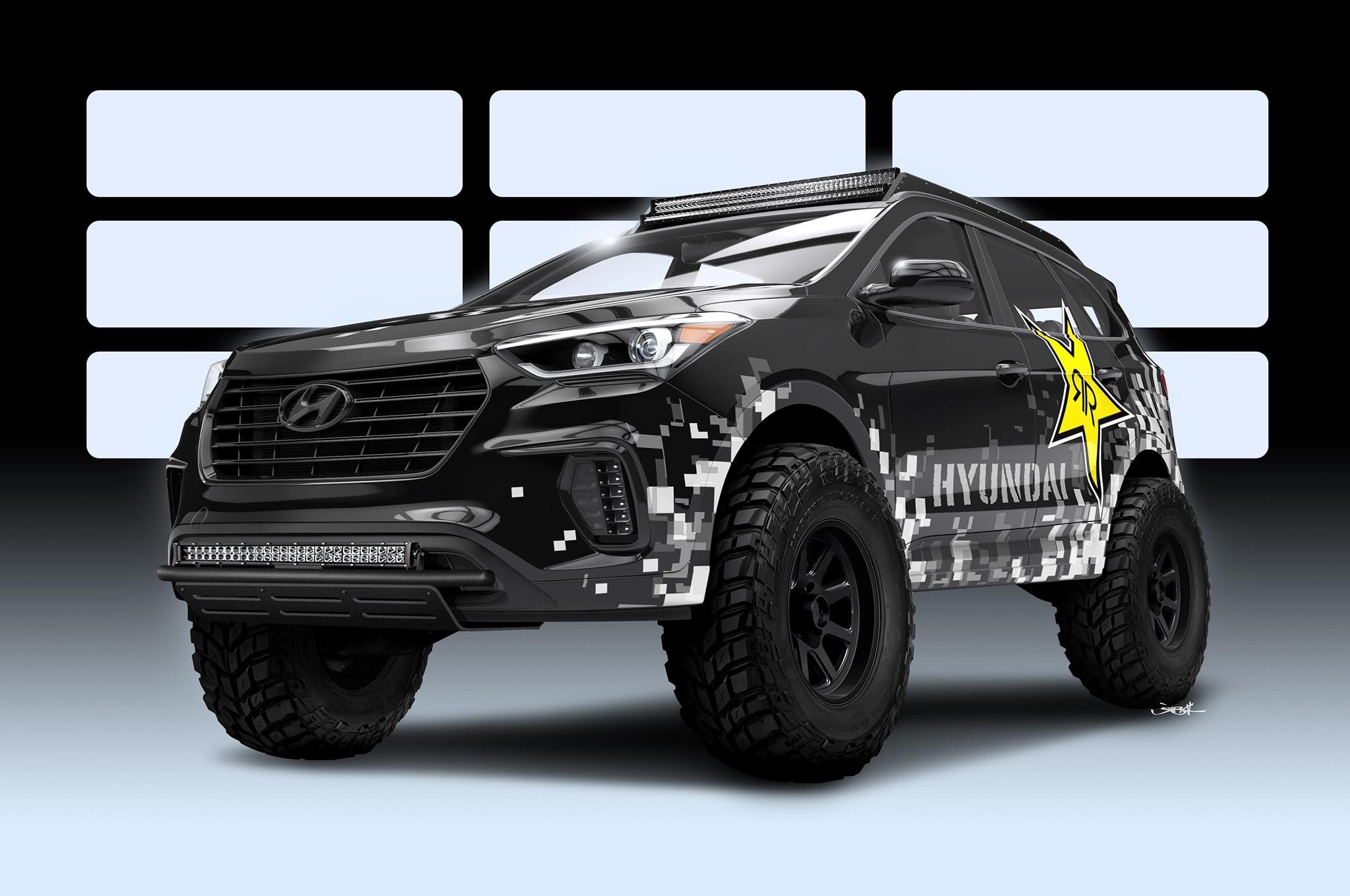 Hyundai Santa Fe Rockstar Garage SEMA