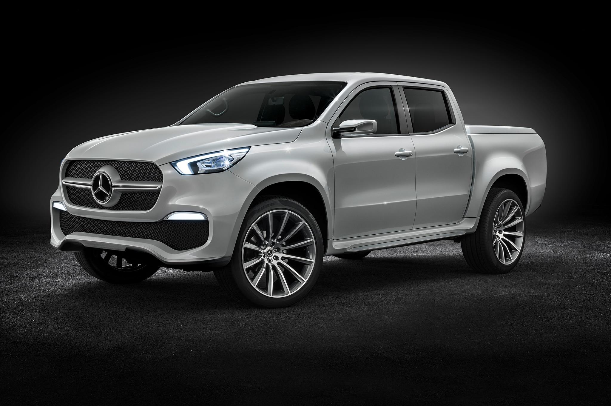 Mercedes benz x class concept makes its mark automobile for Mercedes benz concept