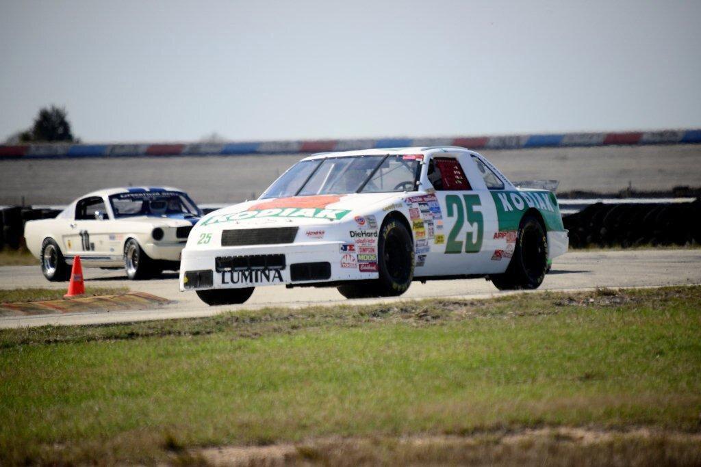 1989 Chevrolet Lumina NASCAR Race Car Ken Schrader Front Three Quarter