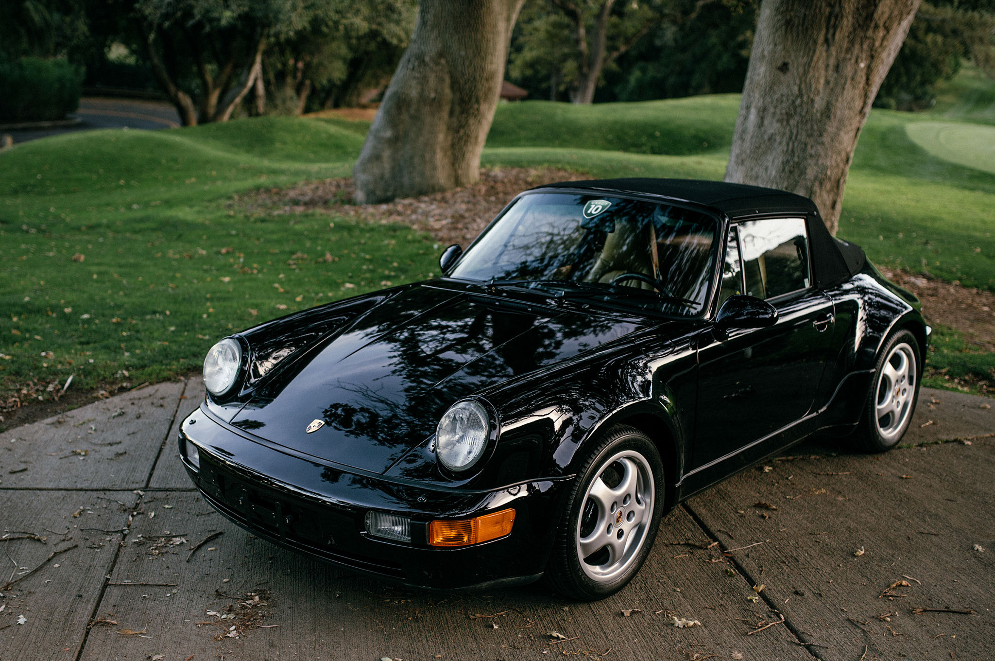 just listed 1992 porsche 911 america roadster with just 3 366 miles on the clock automobile. Black Bedroom Furniture Sets. Home Design Ideas