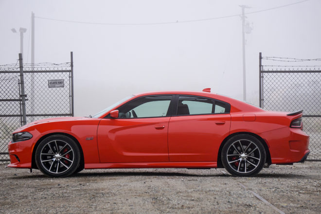 2016 Dodge Charger R T Scat Pack side profile