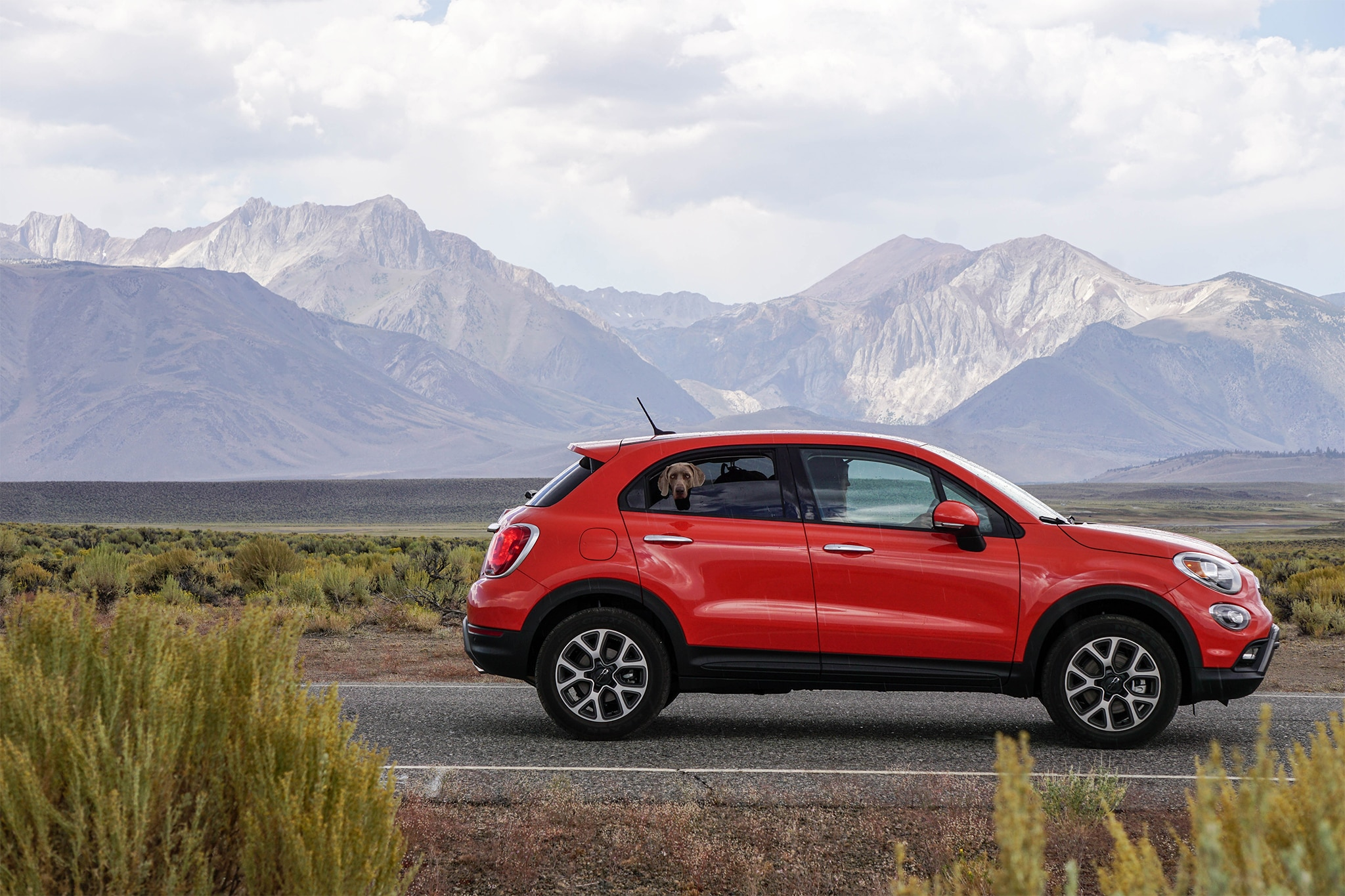 2016 Fiat 500X Trekking Side Profile 01