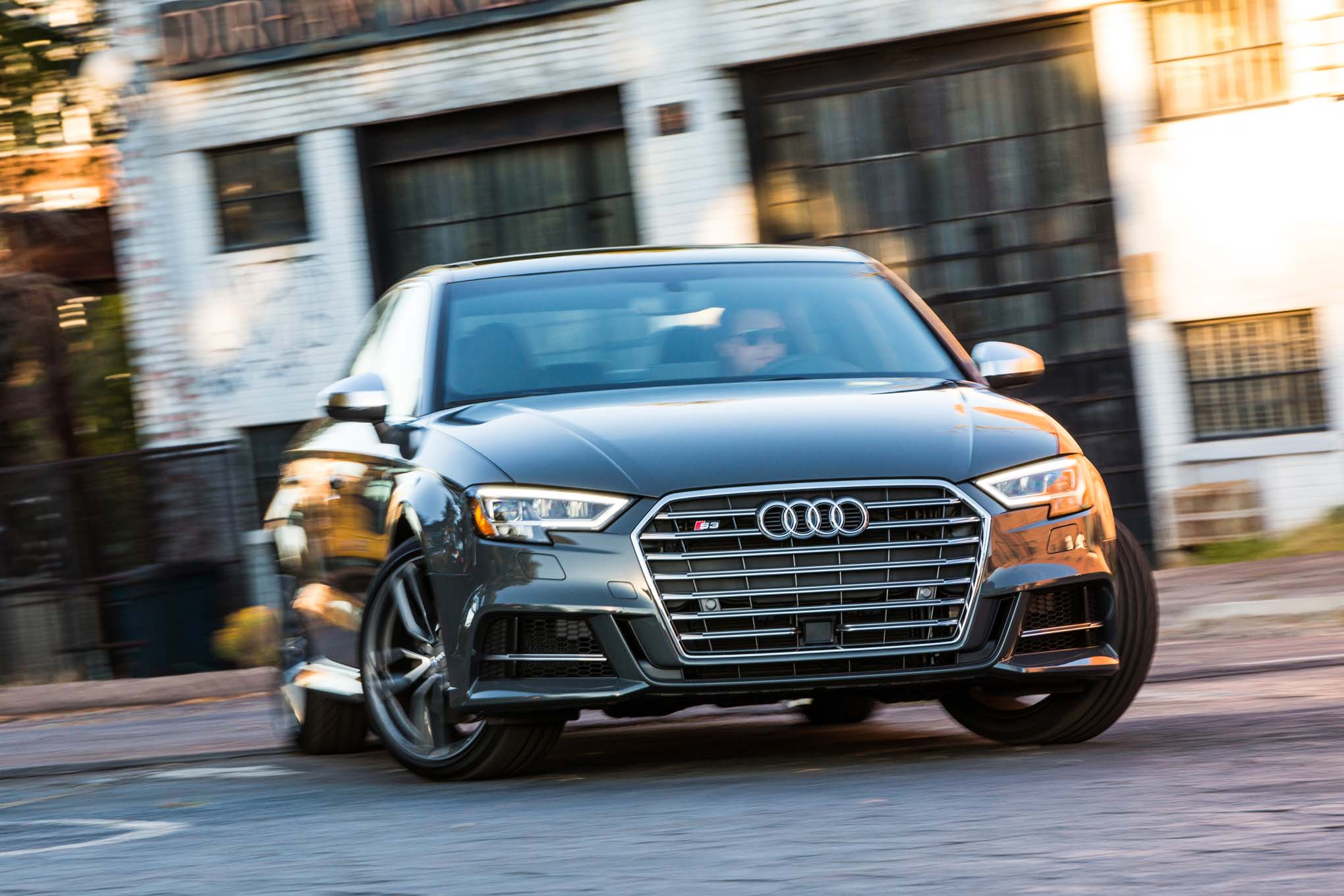 2017 Audi S3 Front Three Quarter In Motion 11