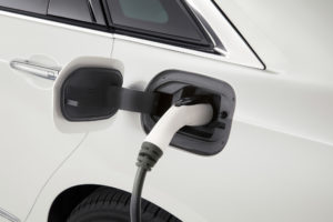 2017 Cadillac CT6 Plug In Hybrid Charge Port With Plug