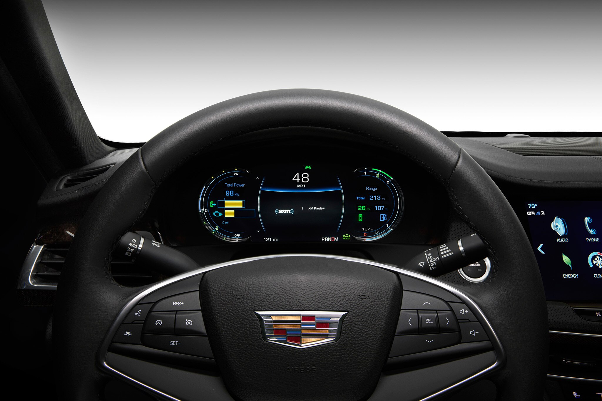 2017 Cadillac CT6 Plug In Hybrid Gauge Cluster