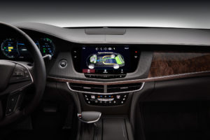 2017 Cadillac CT6 Plug In Hybrid Infotainment Screen