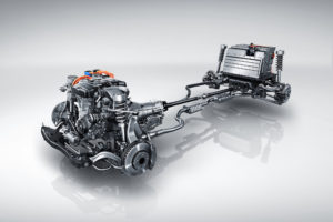 2017 Cadillac CT6 Plug In Hybrid Powertrain Illustration