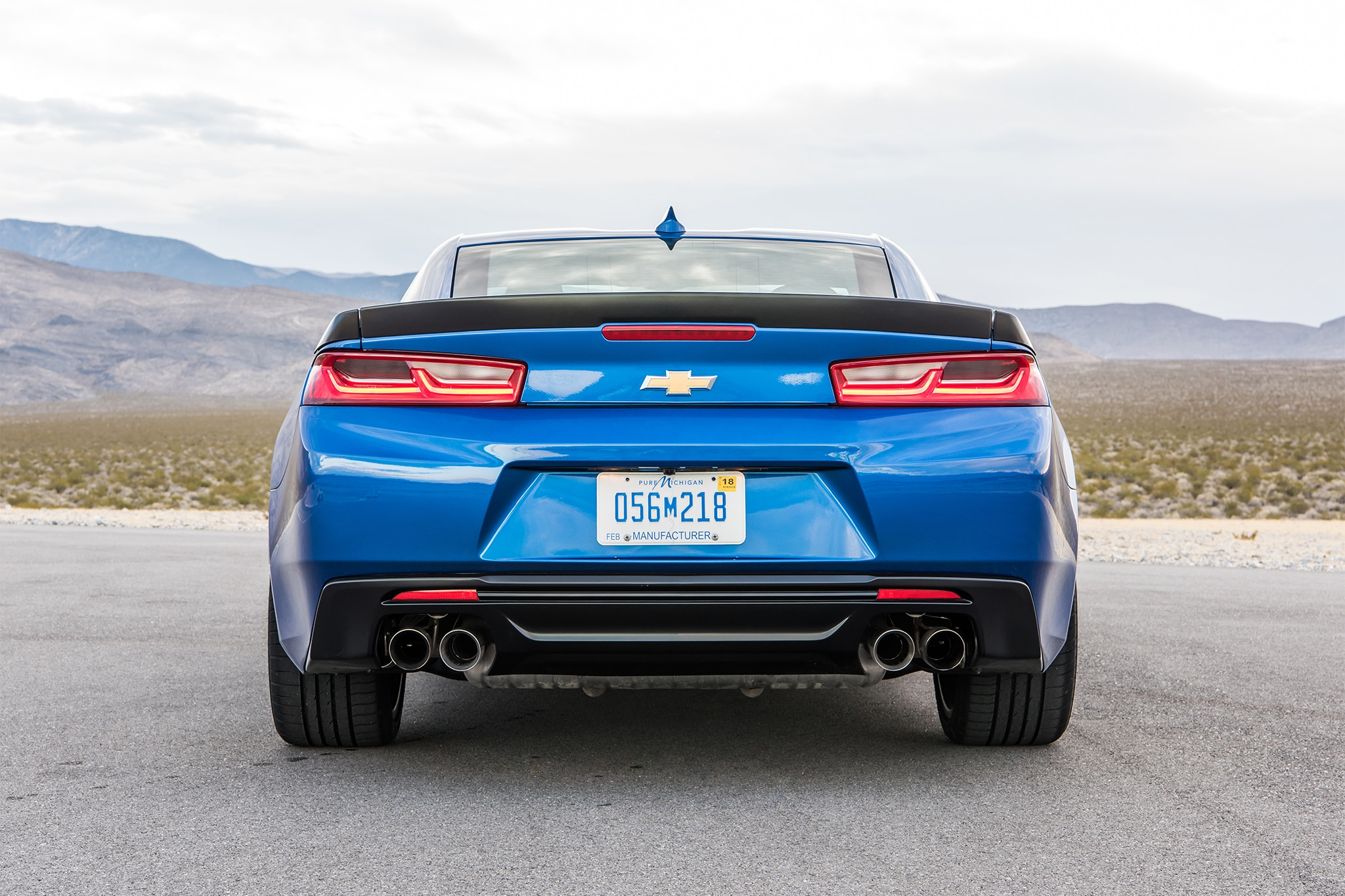 2017 Chevrolet Camaro V 6 1LE rear view 2017 chevrolet camaro v 6 1le first drive review automobile magazine  at bayanpartner.co