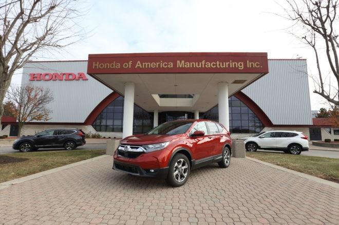 2017 Honda CR V at Ohio Plant