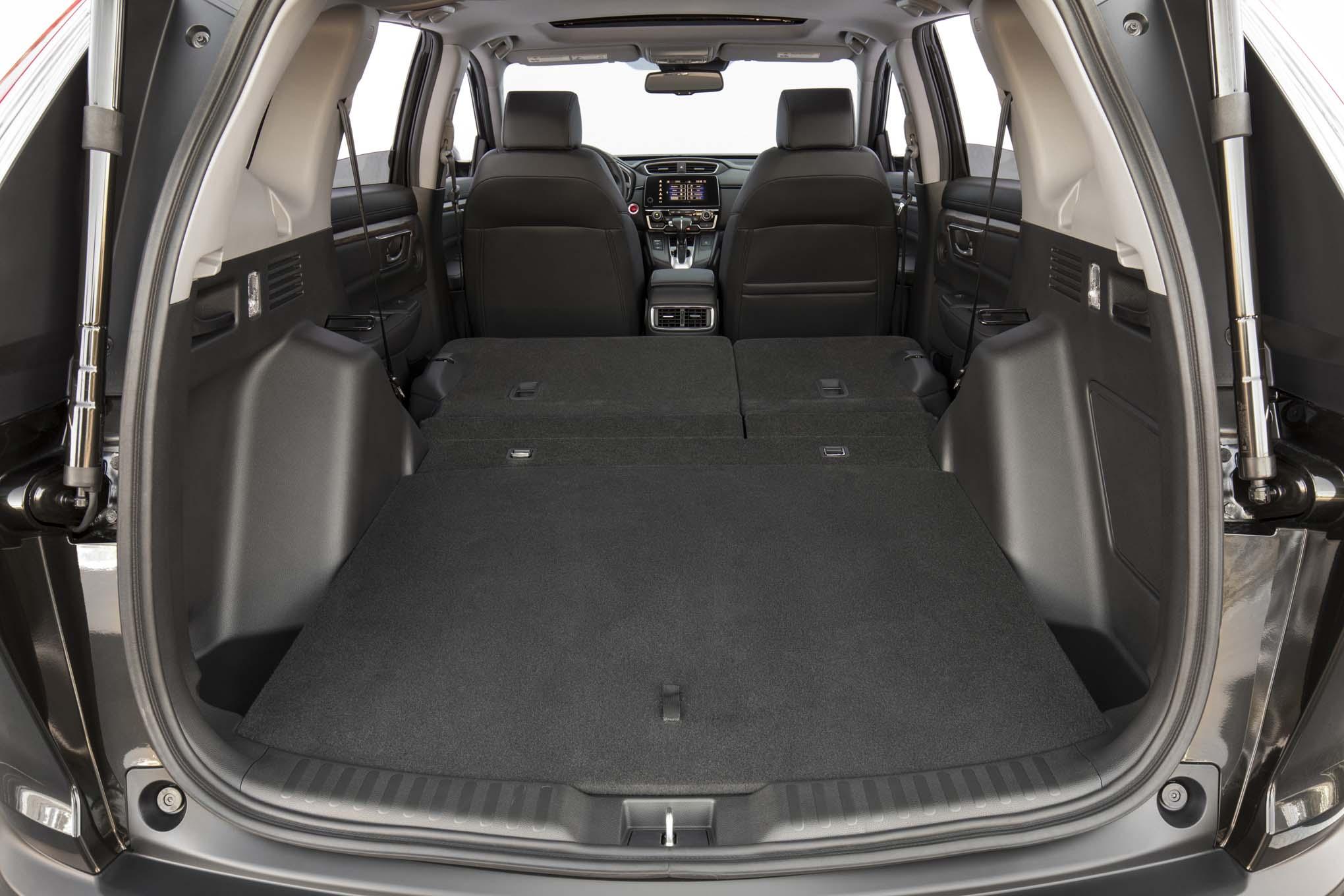 2017 honda cr v touring first drive review automobile for Honda accord cargo space