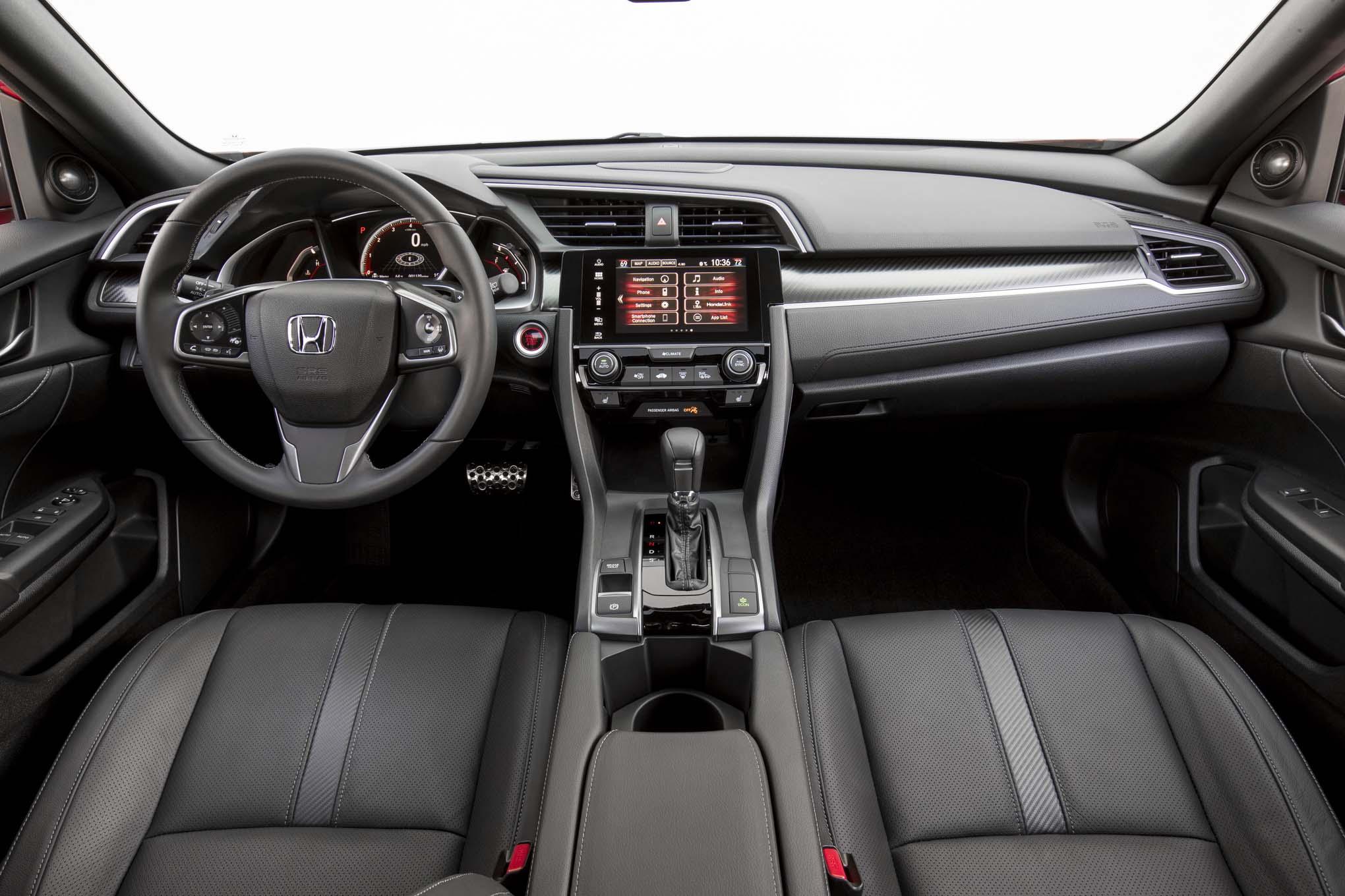 2017 Honda Civic Hatchback Ex L W Navi First Drive Review Automobile Magazine