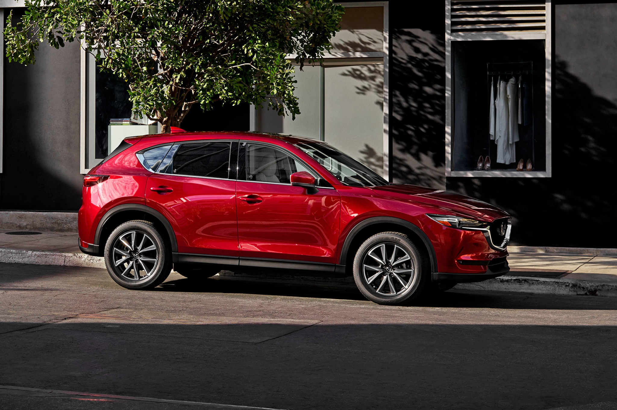 2017 mazda cx 5 first look automobile magazine. Black Bedroom Furniture Sets. Home Design Ideas
