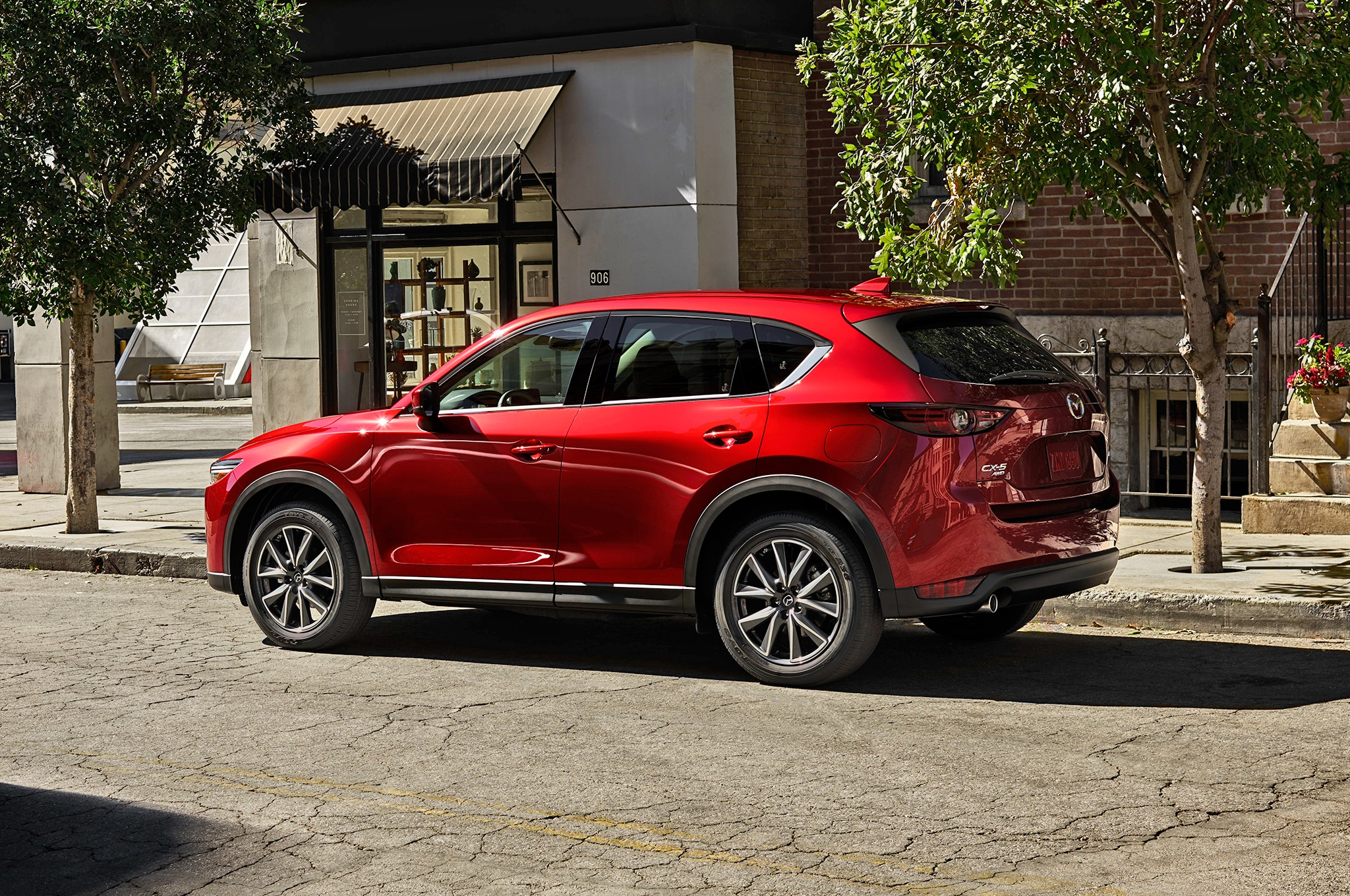 2017-Mazda-CX-5-rear-three-quarter-02-1