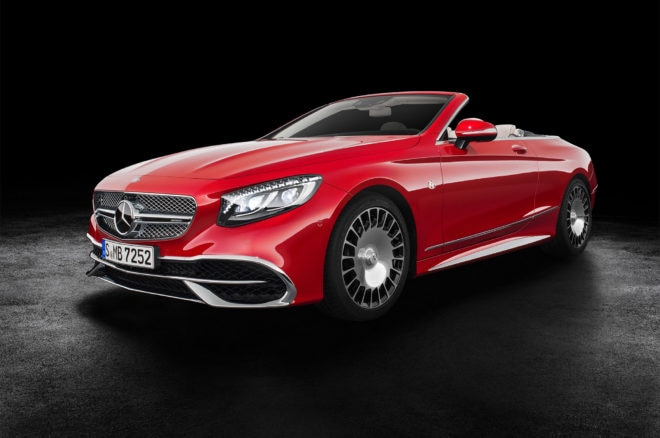 2017 Mercedes Maybach S650 Cabriolet front three quarters