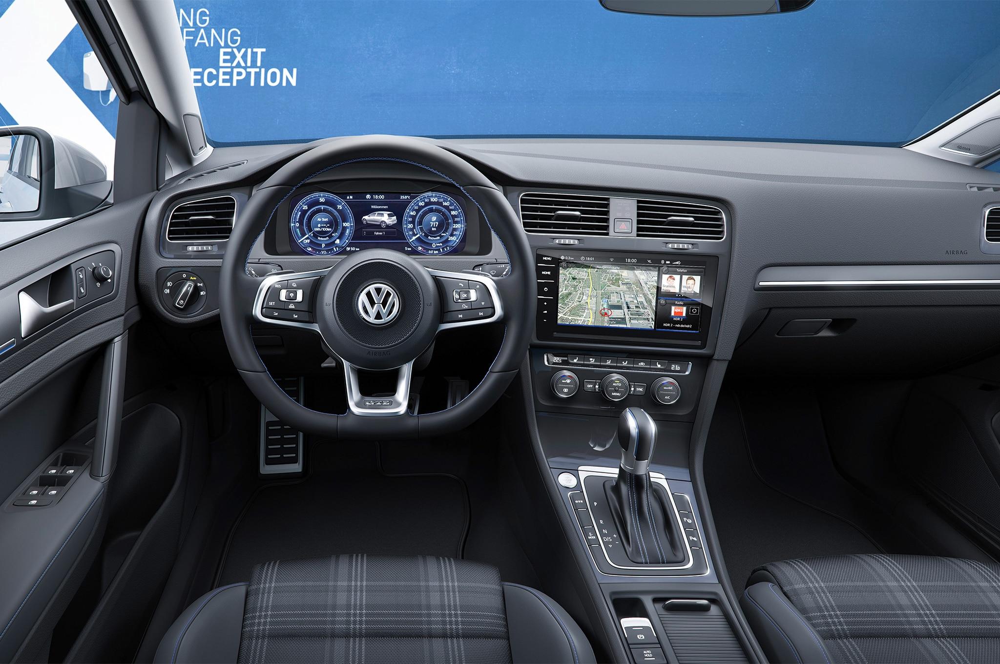 2018 Volkswagen Golf Euro-Spec | Automobile Magazine | {Auto cockpit vw 16}