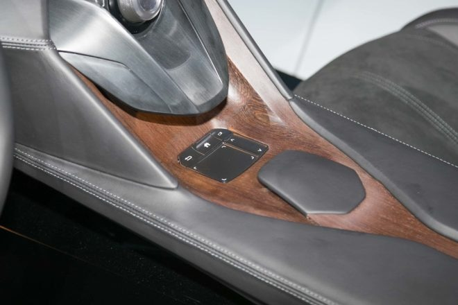 Acura Precision Cockpit concept center console