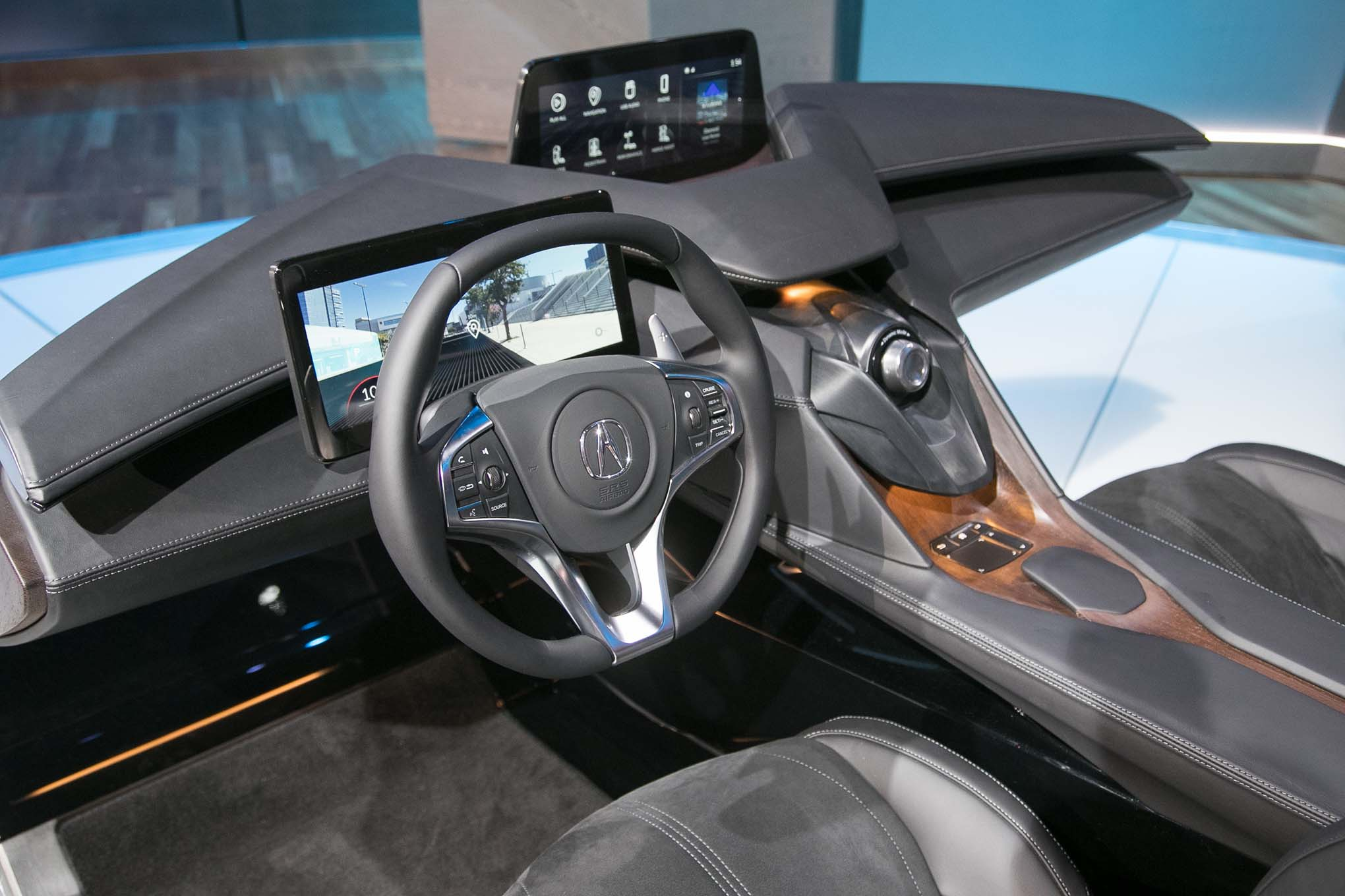 Acura unveils its interior of the future automobile magazine for Interieur concepts