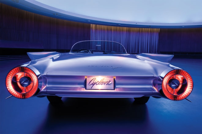 Cadillac Cyclone rear view