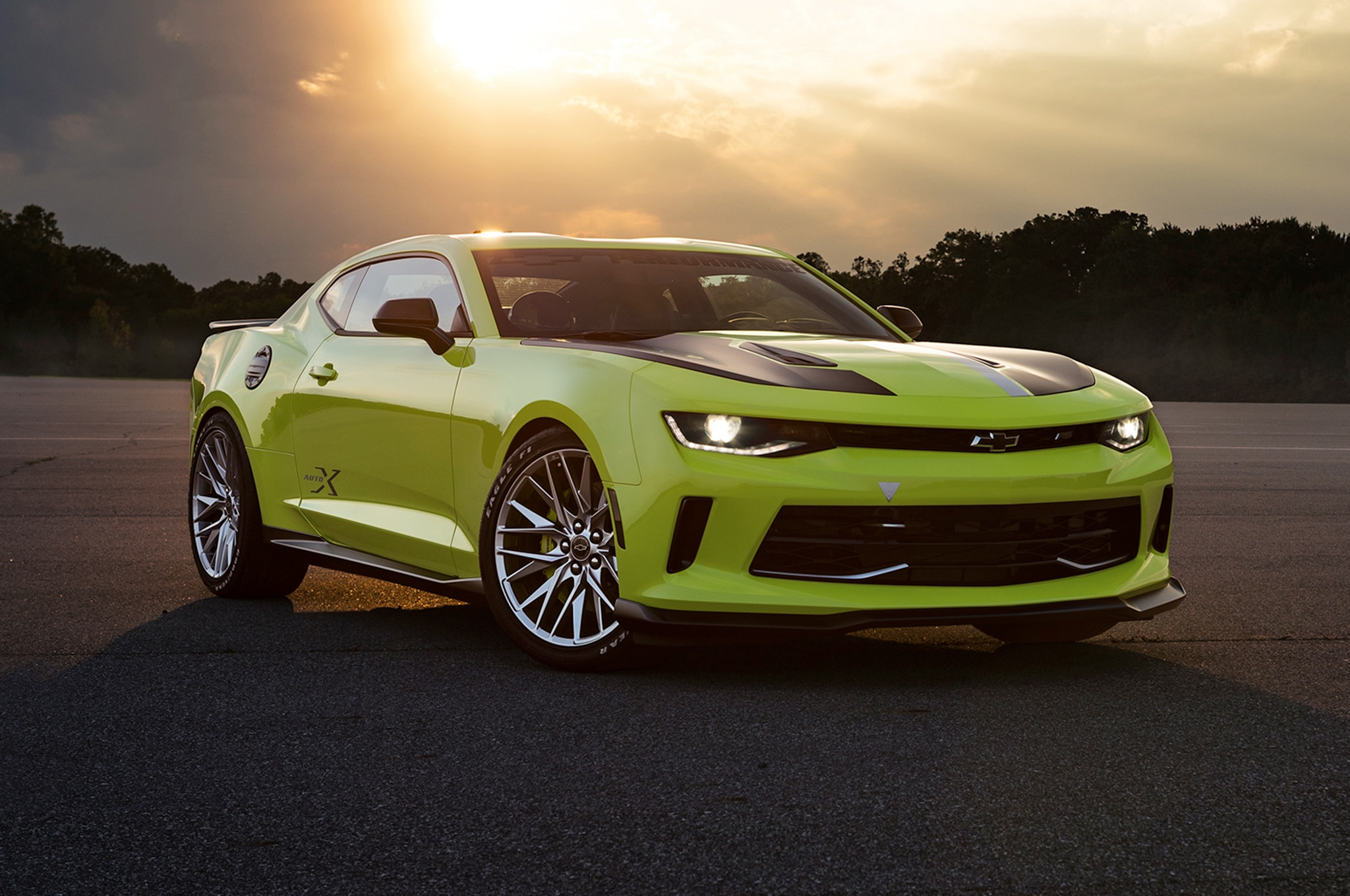 Sema 2016 Chevrolet Camaro Turbo Autox Concept Is Purpose