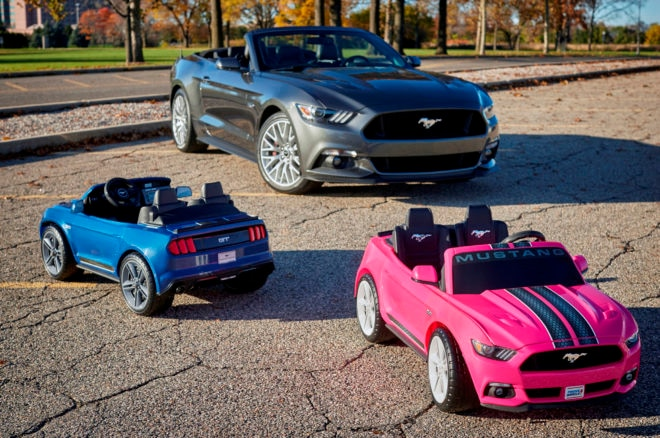 The New Power Wheels Mustang Is As Smart As The Real Thing