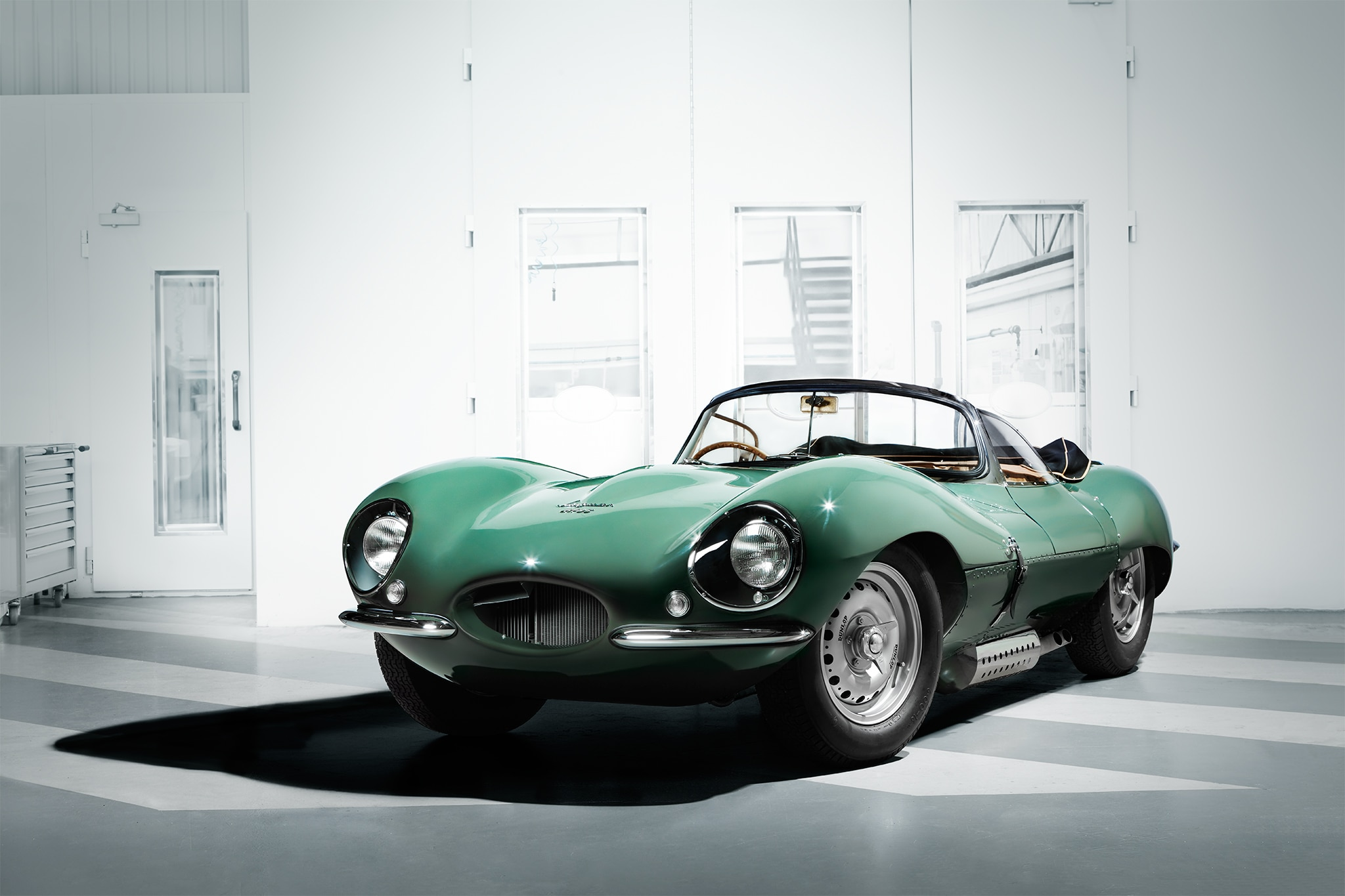 Jaguar XKSS Continuation Car Front Three Quarter