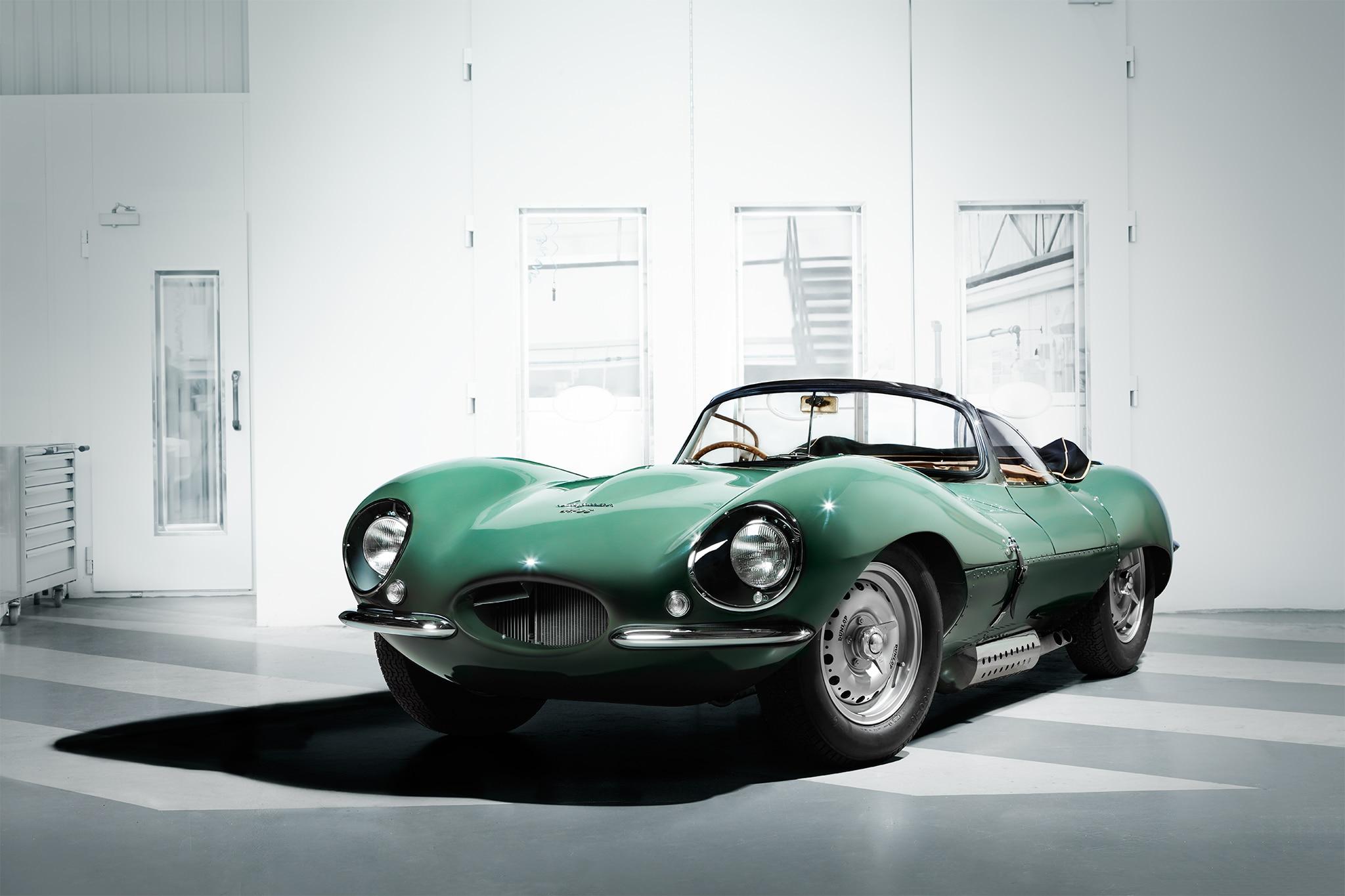 Jaguar XKSS Continuation Car Front Three Quarter