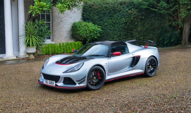 Lotus Exige Sport 380 side