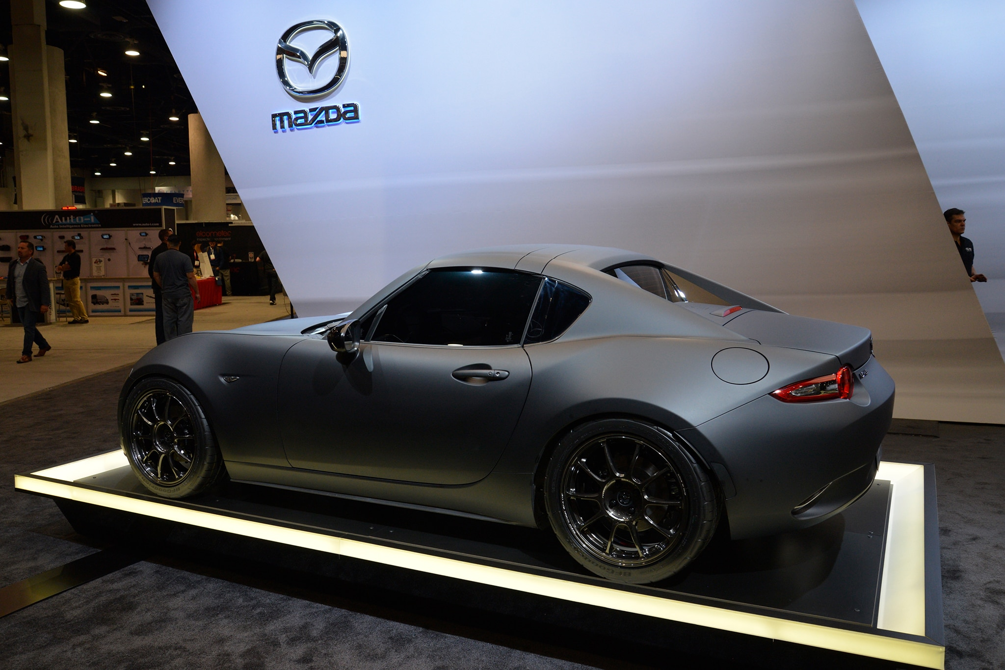 Mazda Mx Miata Rf Kuro Concept Rear Three Quarter