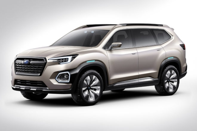 Subaru VIZIV-7 SUV Concept revealed in LA