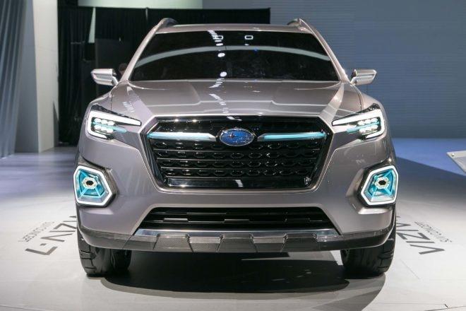 Subaru VIZIV 7 SUV concept front end