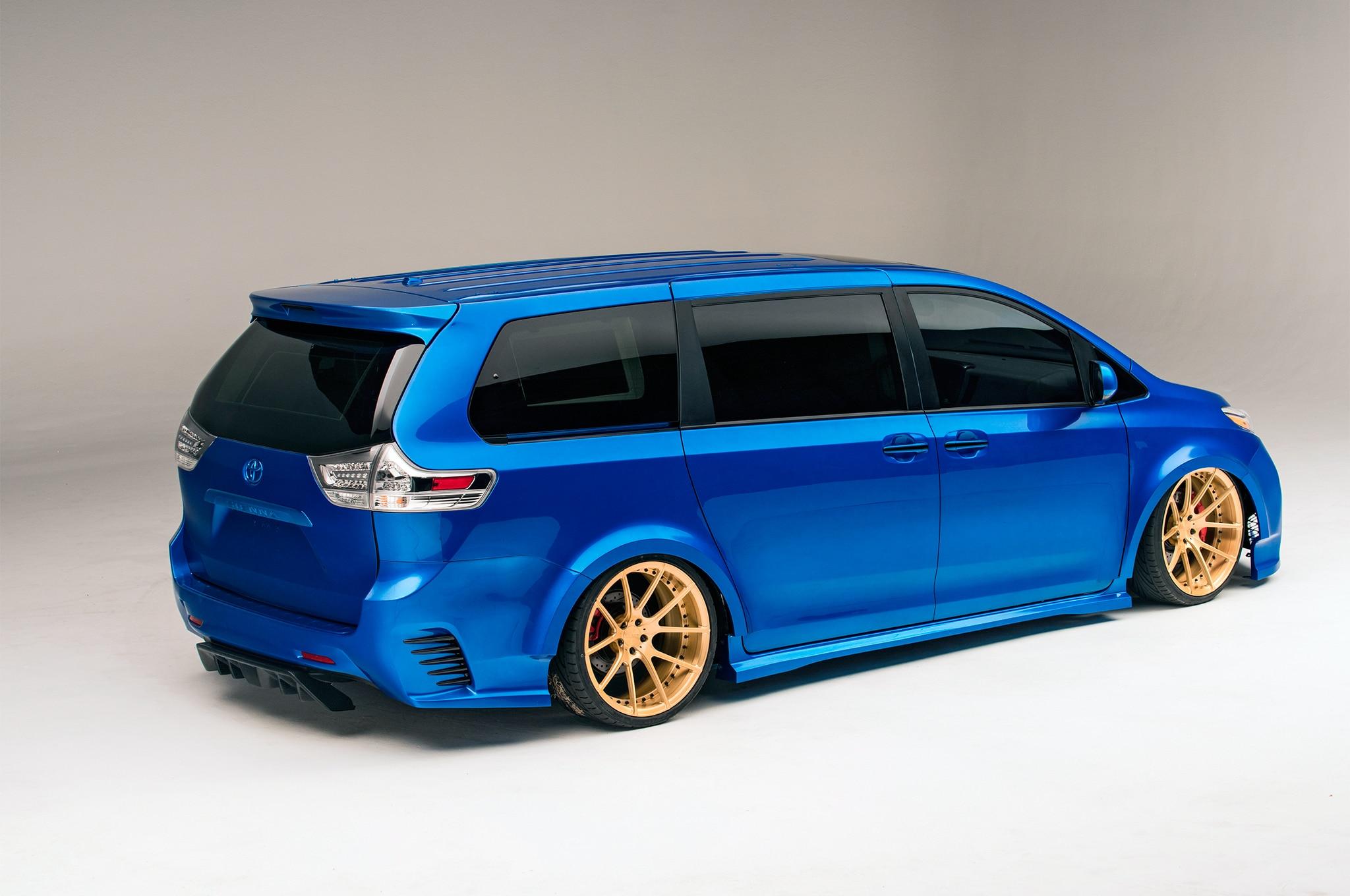 Sema 2016 Toyota Debuts Land Speed Cruiser Automobile