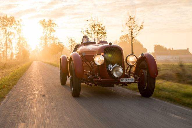1934 Alfa Romeo 6C 2300 Pescara Spider Bonhams Front 660x438