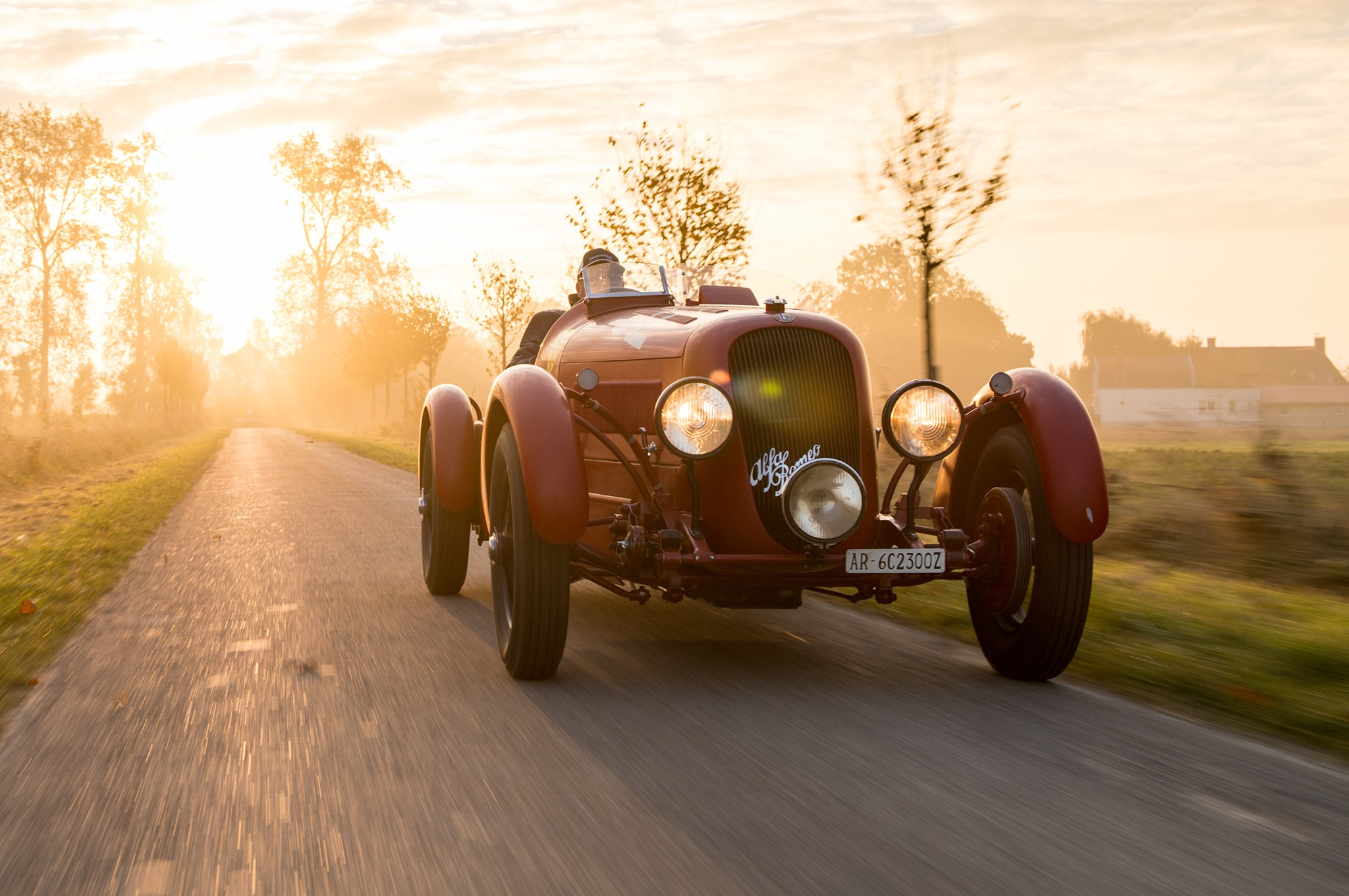 1934 Alfa Romeo 6C 2300 Pescara Spider Bonhams Front