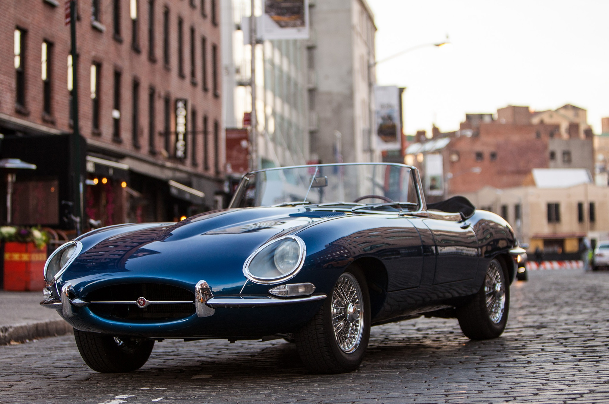 1966 Jaguar E Type Just Listed Front Three Quarters