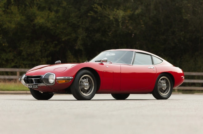 1967 Toyota 2000GT Bring A Trailer Front Three Quarters 660x438