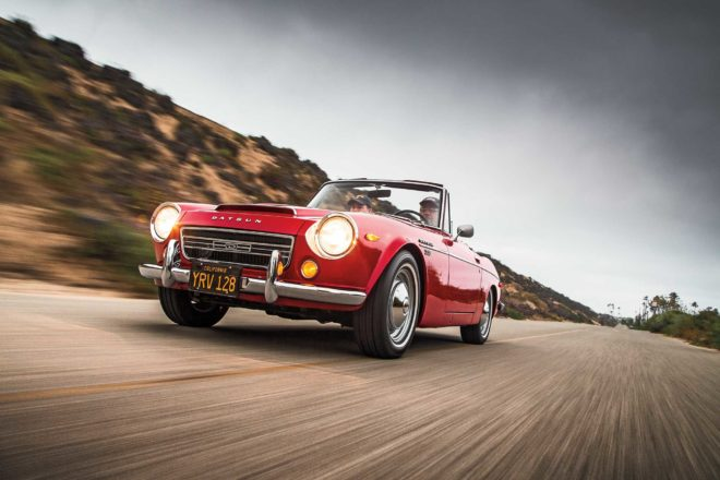 Collectible Classic: 1967-1970 Datsun 2000 Roadster